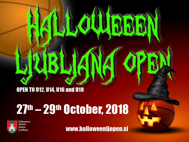 Bil bi greh zamuditi Halloween Ljubljana Open 2018