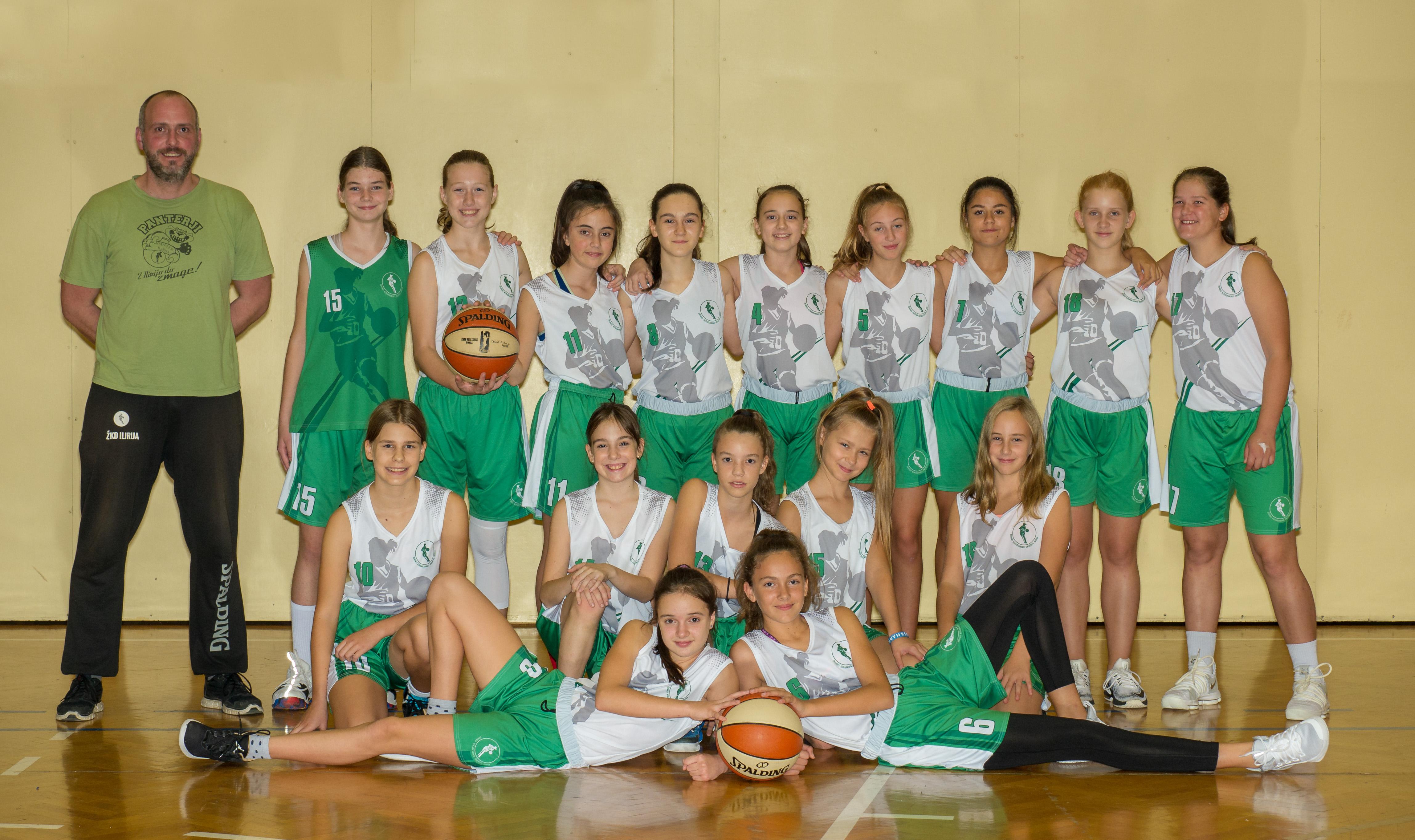 ŽKD Ilirija - U13 - 2018-2019