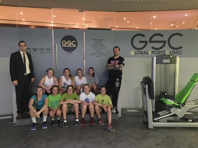Ilirija in Global Sports Clinic