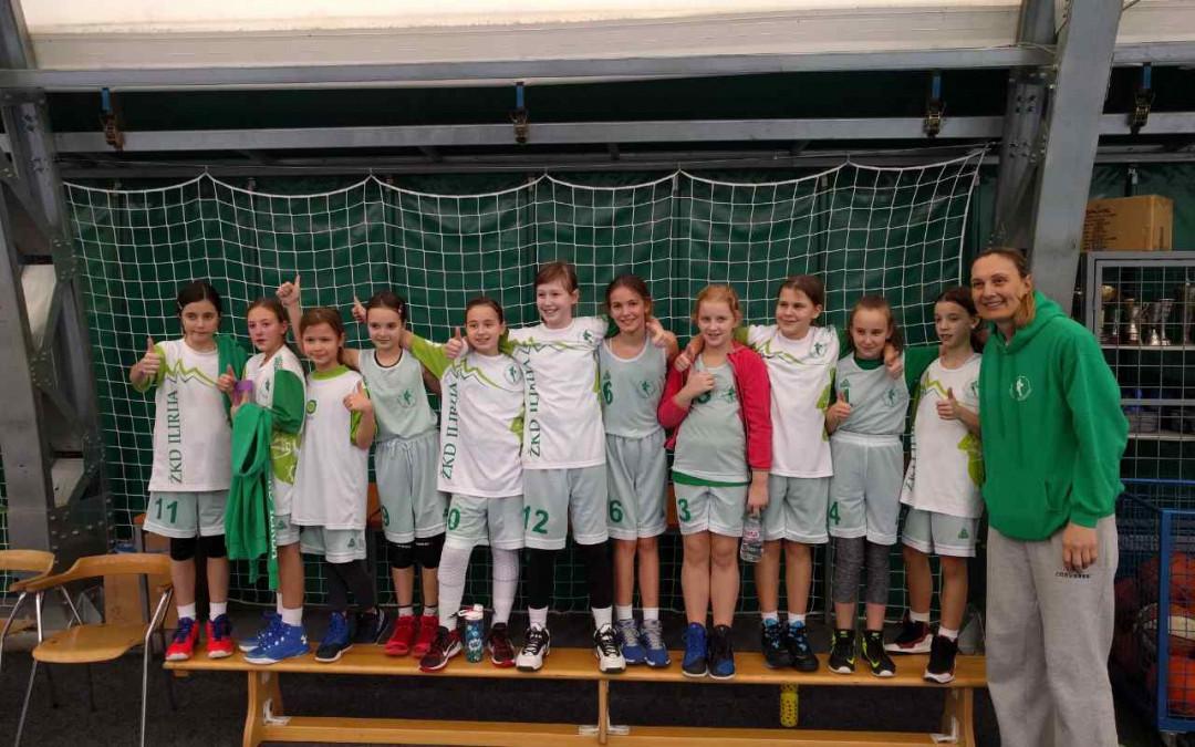 V drugem krogu lige U11 je ekipa Ilirija center odigrala tekmi s Tolminom in z Vipavo
