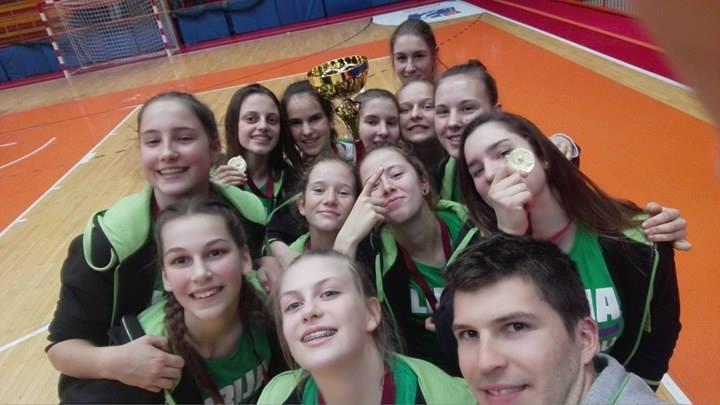 Mednarodna WABA liga za U15 je … NAŠA!!!