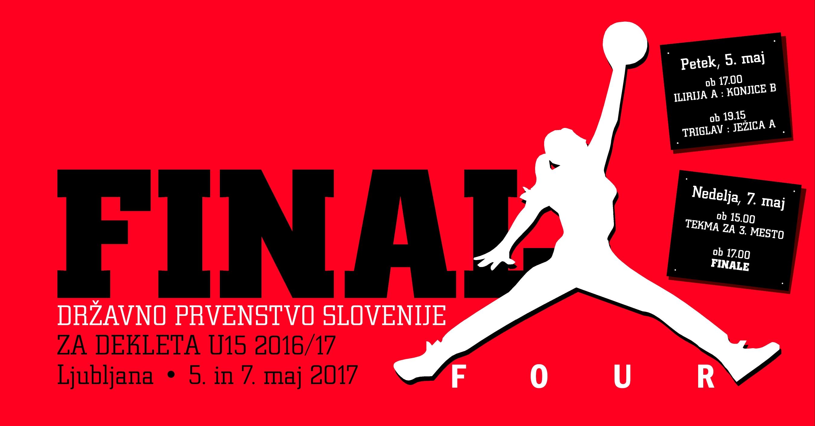 Ilirija gosti zaključni turnir DP za dekleta U15