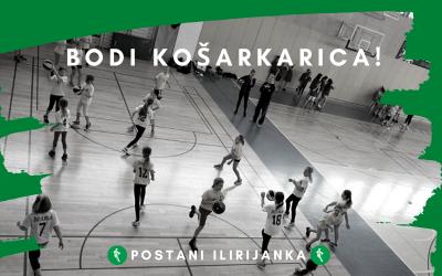 Izberi šolo košarke v ŽKD ILIRIJA!